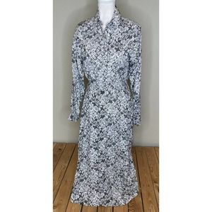 PANHANDLE SLIM Snap Front Long Sleeve Dress Size 6
